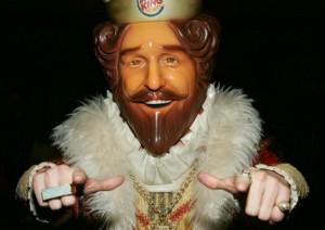 Burger King - The King